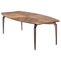 Gaulino Walnut Table by Oscar Tusquets