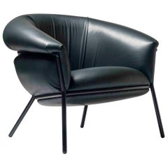 Grasso Armchair by Stephen Burks, Green