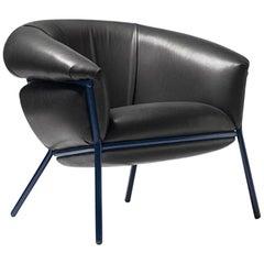 Grasso Armchair by Stephen Burks, Black