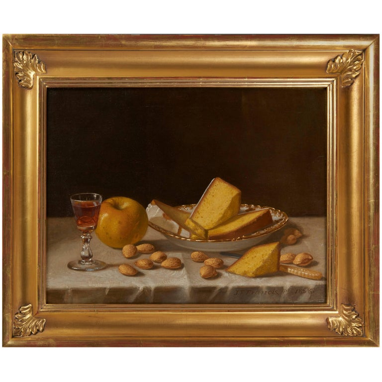 Still Life with Cake by John F. Francis