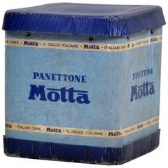 1960s Vintage Italian Panettone Motta Box