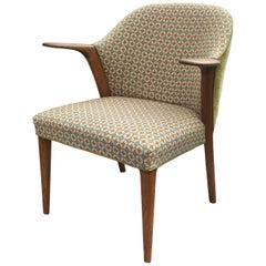 Danish Oak Occasional or Bedroom Chair