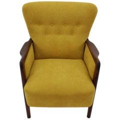 1960s Lounge Chair by Soren Hansen for Fritz Hansen, 8000 Serie