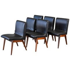 Set of Six Stanley Young for Glenn of California Dining Chairs