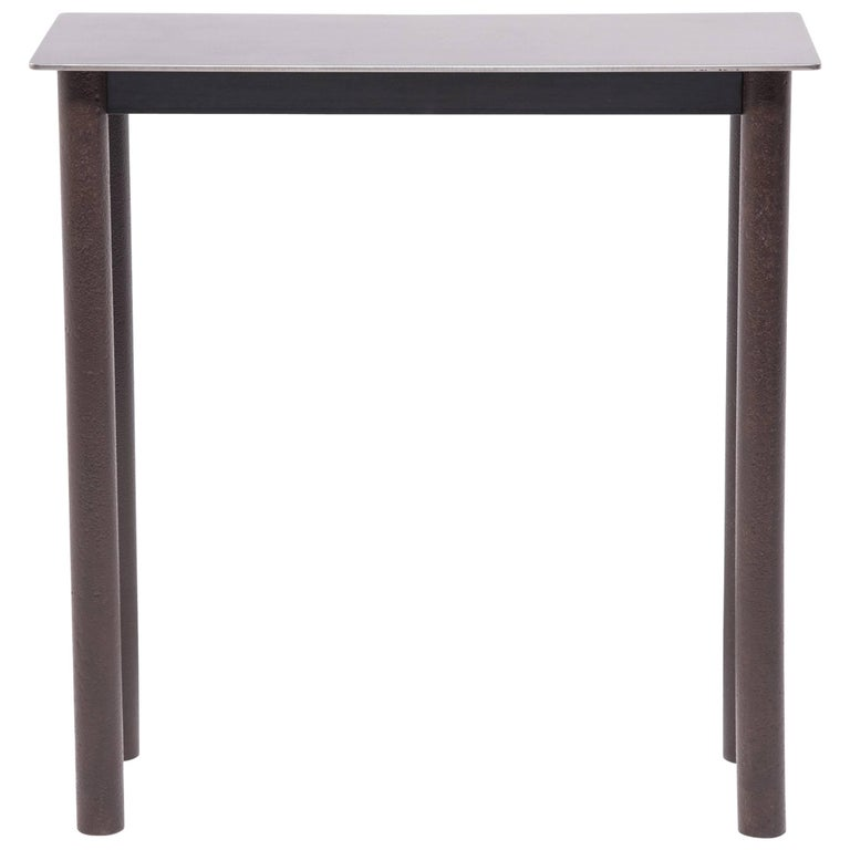Steel Ming Wine Console Table