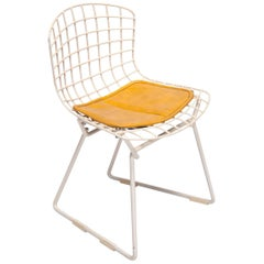 Bertoia Baby Chair with Cushion, Harry Bertoia for Knoll, USA, 1960s