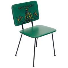 """Davy Crockett"" Child Chair, Disney, USA, 1950s"