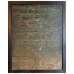 4 Seasons Series, Dye, Acrylic and Oil on Variations of Wood, Jane Park Wells