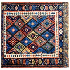 Early 20th Century Kurdish Jaff Rug
