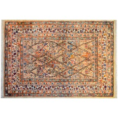 Rare and Unusual 19th Century Sultanabad Rug