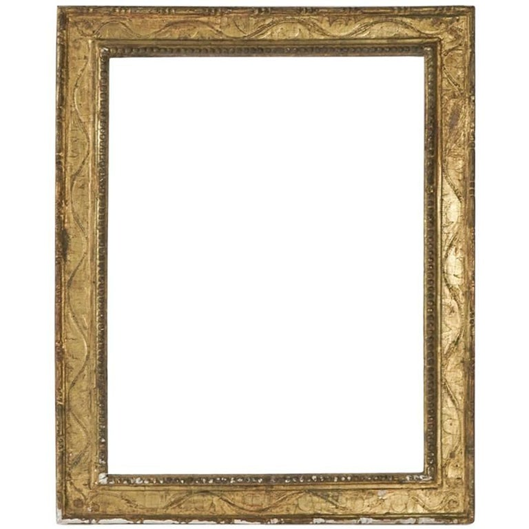 A 16th Century Style Renaissance Giltwood Frame Florence Italy For