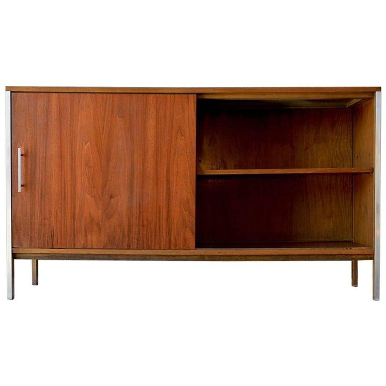 Paul McCobb Walnut Cabinet or Room Divider, circa 1965