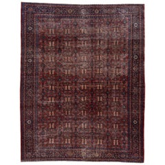 Antique Shabby Chic Mahal Rug