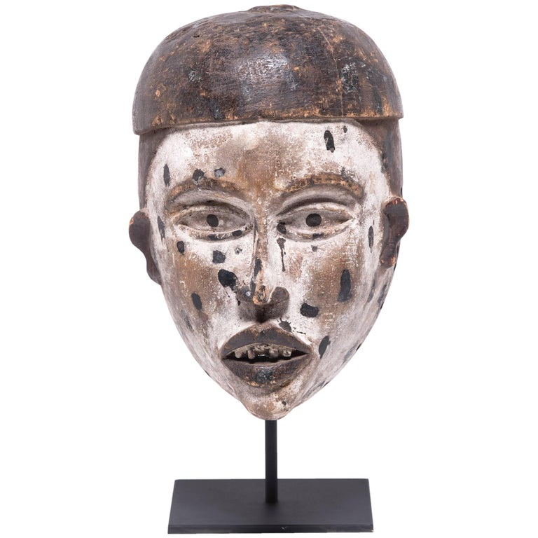 Kongo Funeral Mask For Sale