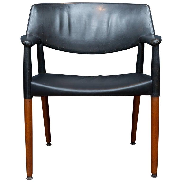Ejner Larsen & Askel Bender Madsen Lounge Chair for Willy Beck