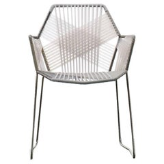 Moroso Tropicalia Dining Chair in White, Black or Multicolored for Outdoor Use