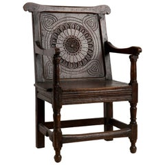 Renaissance Style 19th Century Armchair, Origin, Sweden