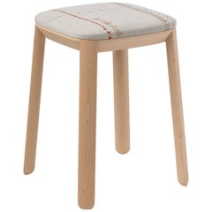 Maharam Covered Stool by Scholten & Baijings
