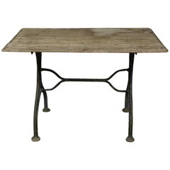 Early Bistro Table from France, circa 1920
