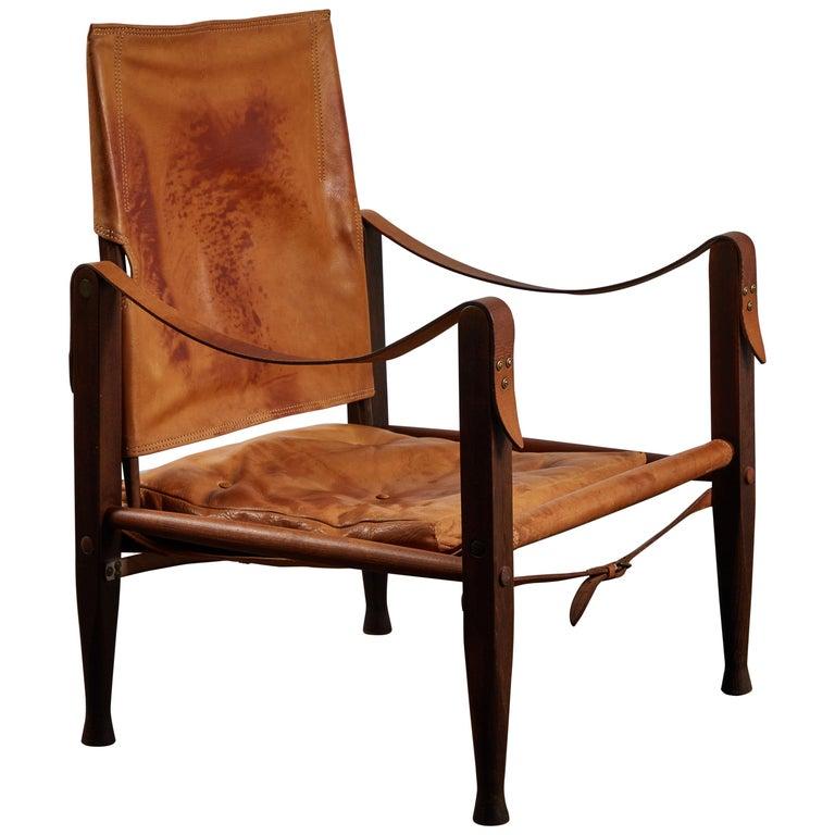 Kaare Klint Safari Chair for Rud Rasmussen