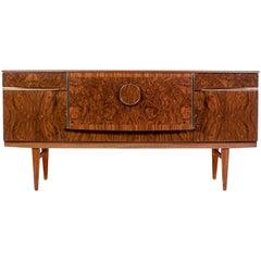 Midcentury Scandinavian Art Deco Style Sideboard