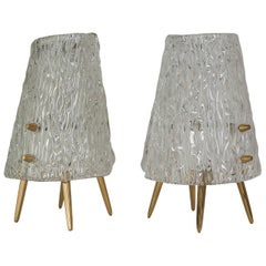 Two Kalmar Table Lamps, 1950s