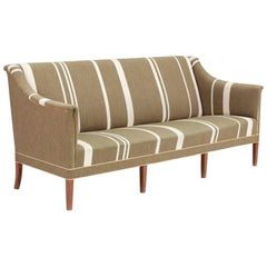 Kaare Klint Sofa with Traditional Savak Wool Designed 1940