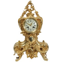 Antique French Rococo Clock