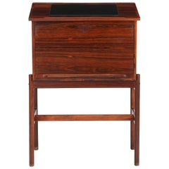Wahl Iversen Rosewood Lectern Desk Made in Denmark, circa 1960s