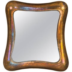 Richard Rohac Mirror Around 1950s, Signatured