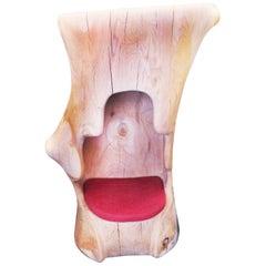 Ambiance Throne Armchair in Solid Cedar Wood