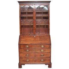 18th Century Mahogany Bureau Bookcase