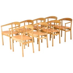 "Set of Eight ""Tokyo"" Chairs by Carl-Axel Acking"