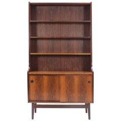 1960s Danish Palisander Bookcase Cabinet