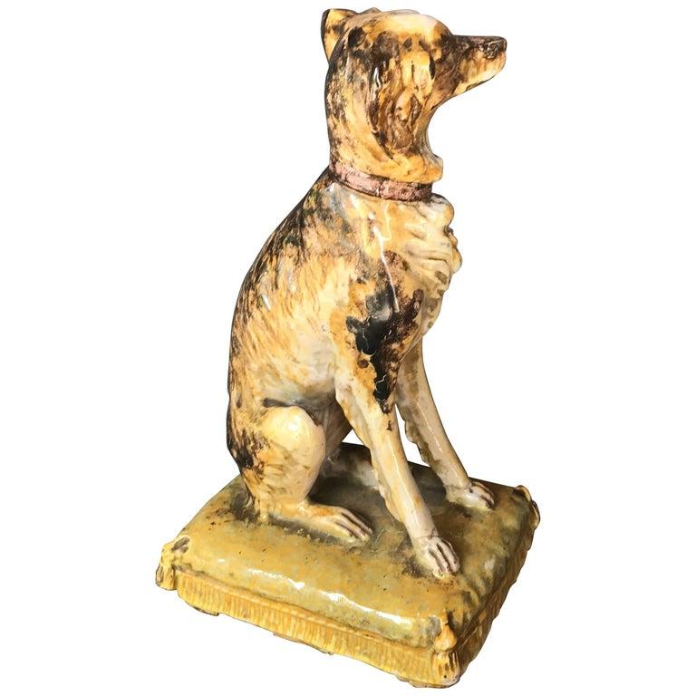 Italian Dog Sculpture