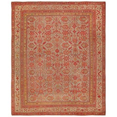 Room Size Antique Decorative Turkish Oushak Rug