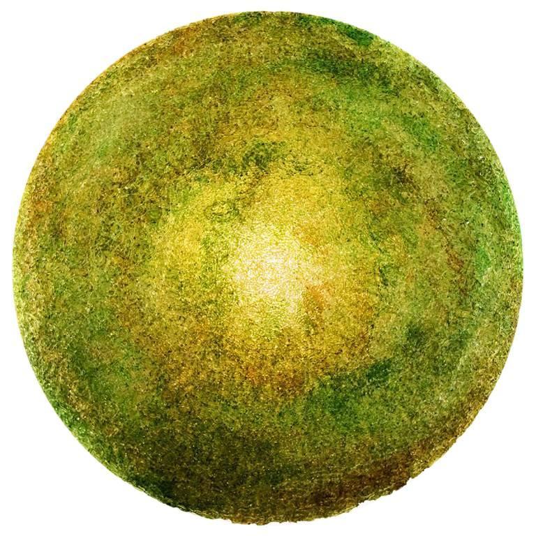 Tondo 180 Wall Light in Green Polycarbonate by Jacopo Foggini