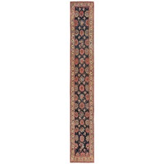 Early 19th Century Tribal Persian Northwest Runner Rug