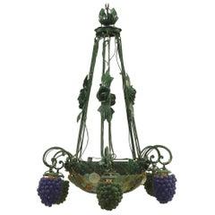 Italian Venetian Six-Arm Chandelier