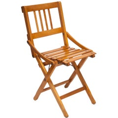 Brevetti Reguitti Folding Child Chair by Fratelli Reguitti, Italy, 1940s
