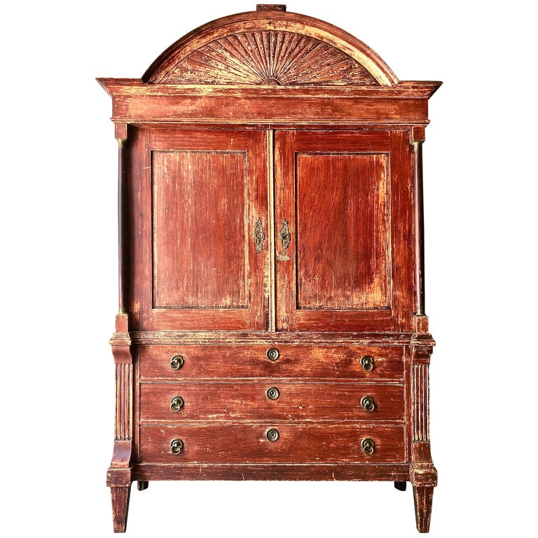 19th Century Dutch Cabinet For Sale