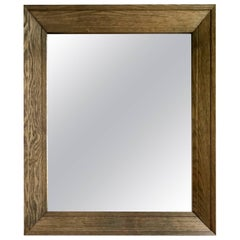 Philippe Delzers, Mirror Prototype in Oak, Elitis 1998