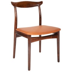 Set of Eight Rosewood Dining Chairs Designed by Eric Worts