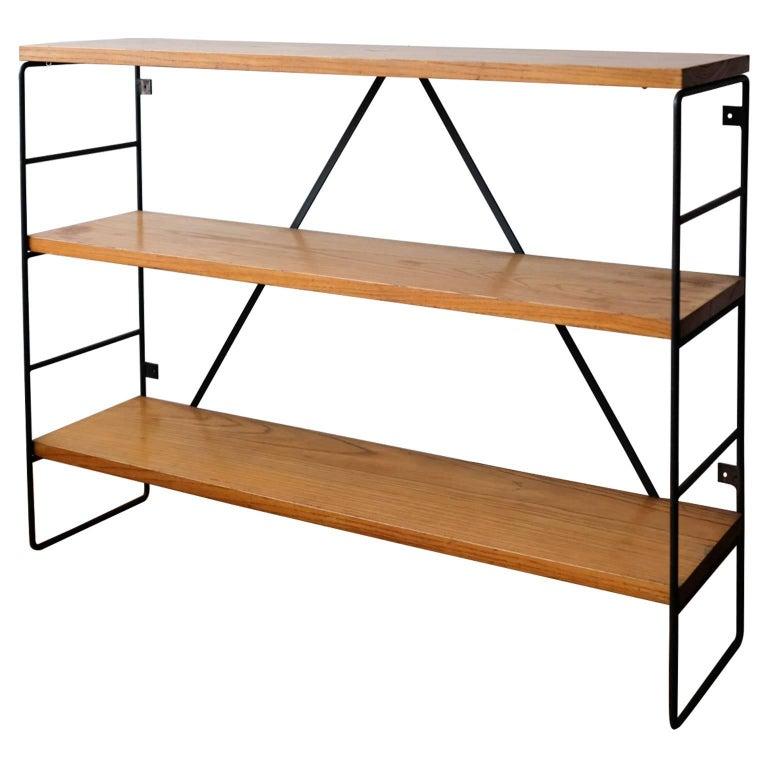 Iron and Wood Shelf, 1950s
