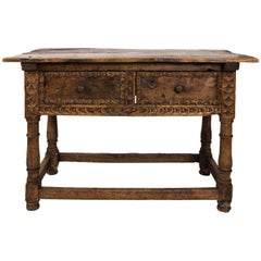 Continental Style Work Table