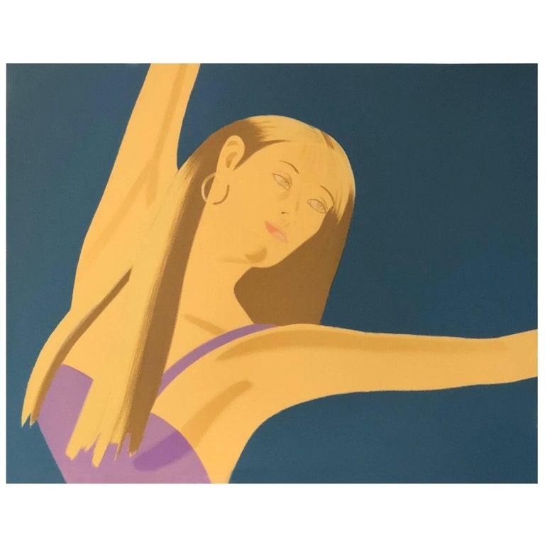 s/4 20th Century Alex Katz Signed No'd Lithographs Night: William Dunas Dance