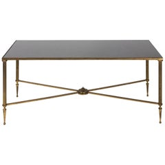 French Ebonized Wood Cocktail Table