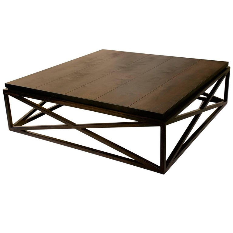 """X"" Base Coffee Table"