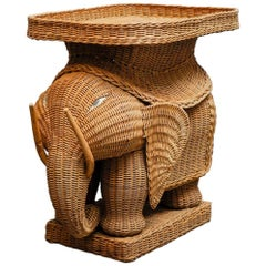 1960s Elephant Table