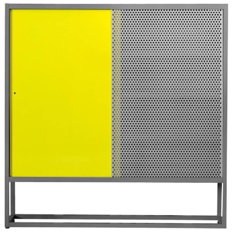 Moroso Library Bookcase by Jörg Schellmann in Blue, Green, Orange or Yellow For Sale